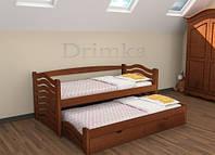 """Одноярусная кровать с дополнительным выдвижным спальным местом """"МАЛЬВИНА"""""""