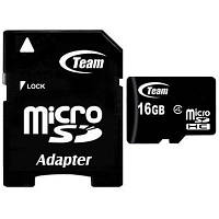 Карта памяти Team 16Gb microSDHC class 4 (TUSDH16GCL403)