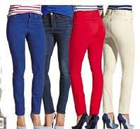 Купить женские летние синие джинсы стрейчевые от Esmara размер евро 38