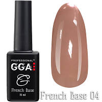 Френч каучуковая база French Base GGA Professional Тон 04