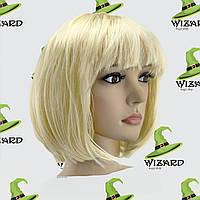 Парик Каре блонд
