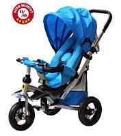 Трехколесный велосипед Baby Trike CT-22 , надув колеса, голубой
