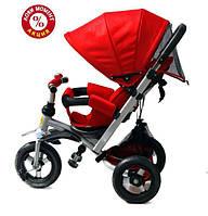 Трехколесный велосипед Baby Trike CT-22 , надув колеса, красный