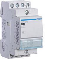 Контактор безшумний Hager 25A, 2НВ+2НЗ, 230В, 2м (ESC427S)