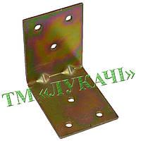 Кутник квадратний мебельний №125 (6,5*5см) (20шт/уп)