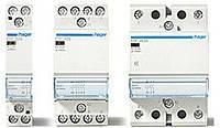 Контактор безшумный с ручным управлением Hager 25A, 2НВ, 230В, 2м (ERC625S)