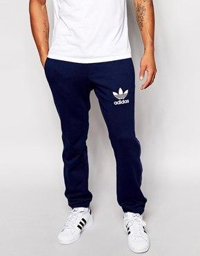 Спортивные штаны Adidas (Адидас), логотип трилистник