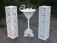 """Свадебный столик для росписи серии """"Классика"""""""