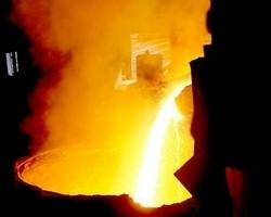 Выплавка стали в Украине упала на 17%