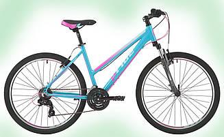 """Велосипед 26"""" Pride Stella 1.0 рама - 16"""" бирюзовый/малиновый/голубой 2017"""