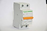Автоматический выключатель Schneider Electric ВА63 2П, 50A, C (11218)