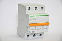 Автоматический выключатель Schneider Electric ВА63 3П, 32A, C (11226)