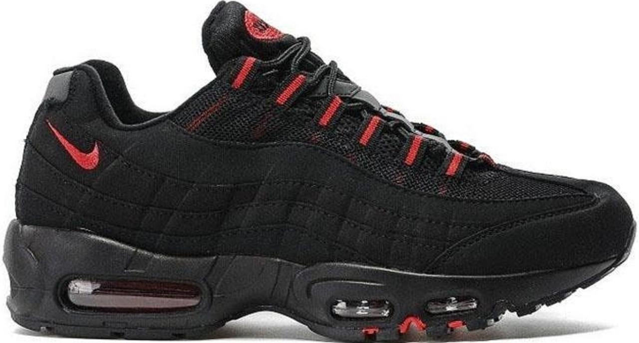 b310bd9d5be2e Кроссовки найк Nike Air Max 95 Black/Red от магазина tehnolyuks.prom ...