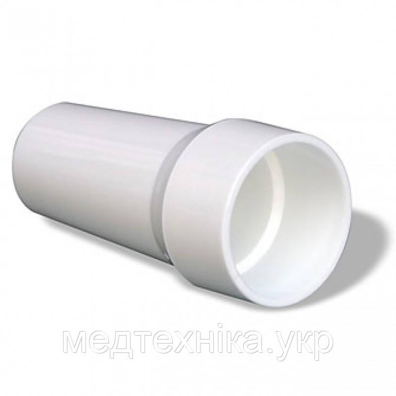 Мундштук к пикфлоуметру Mini-Wright Standart, eMini-Wright, спирометру SP10,пластик, многоразовый,ø30мм,L-65мм, фото 1
