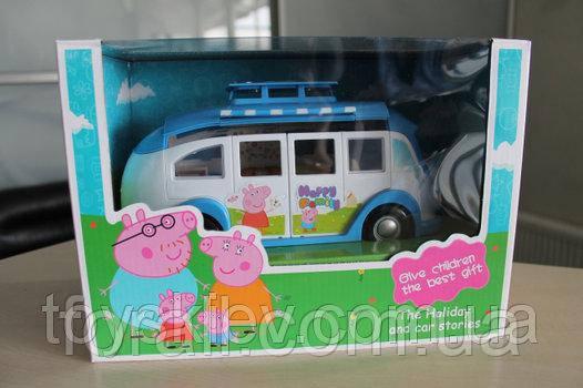 Игровой набор Автобус Свинки Пеппа № 8851