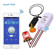 Sonoff TH16 WiFi – розумний вимикач з моніторингом температури і вологості