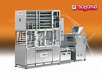 Автоматическая линия для производства круглого, штампованого хлеба и мини-багет мод. Compact
