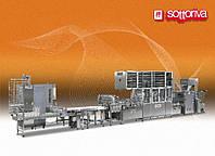 Автоматическая линия для производства круглого, штампованого хлеба и мини-багет мод. Roll line