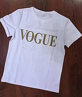 Женская белая футболка Vogue 3П35_1