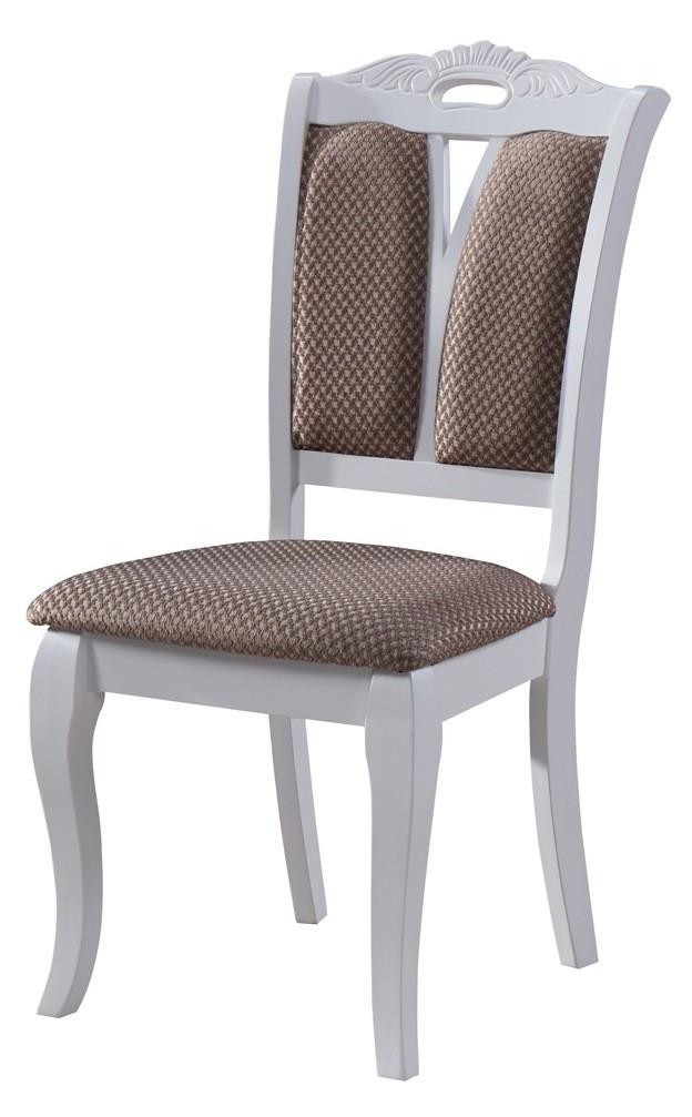 "Белый классический стул ""Мира"" (ТК брас) (белый)"