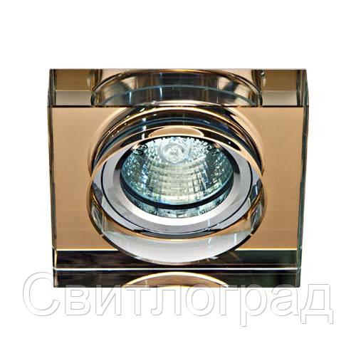 Встраиваемый светильник Feron 8180-2 чайный 20102