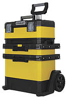Ящик на колесах 57x41x72cm, ROLLING WORKSHOP, STANLEY 1-95-621.