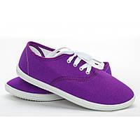 Женские мокасины фиолетовые (Код: S-11)