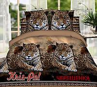 Семейный набор 3D постельного белья из Полиэстера №853277 KRISPOL™