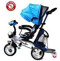 Трехколесный велосипед Baby Trike CT-95 , рез колеса, поворот сидение, синий