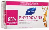Средство против выпадения волос у женщин Phyto Phytocyane Thinning Hair Treatement Women