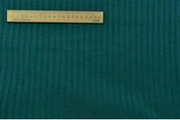 Трикотаж резинка пр-во Корея берюза зелёная. Ширина 130 см