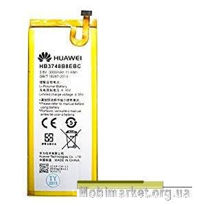 Original аккумулятор HUAWEI G7 HB3748B8EBC 3000mAh, фото 2