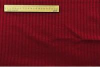 Трикотаж резинка пр-во Корея тёмно-красный, ширина 130 см