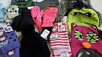 Детские шапки, шарфы, перчатки