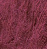 Турецкая пряжа для вязания нитки Alize  KID ROYAL 50 (Кид Рояль 50)  кид  мохер 122 сливовый