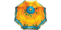 Пляжный зонт UMBRELLA 220 cm palma, фото 3