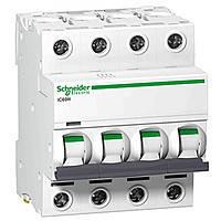 Автоматический выключатель iC60N 4P 25A C Schneider Electric (A9F79425)