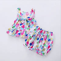 Детский летний костюм для девочки .