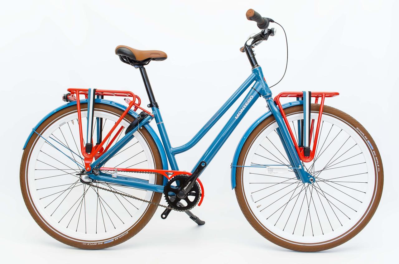 Велосипед Montego Nostalgic 28 Nexus 3 Blue Голландія