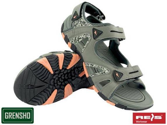 Мужские сандалии (рабочая обувь) BKSSUMMER SC, фото 2