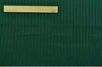 Трикотаж резинка пр-во Корея зелёный, ширина 130 см. Купить в Украине оптом.