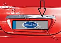 Накладка над номером на крышку багажника  Mitsubishi Lancer 9 2004-