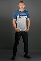 Мужская футболка Бани (синий)