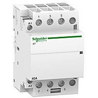 Модульный контактор iCT 40A 3NO Schneider Electric (A9C20843)