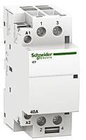 Модульный контактор iCT 63A 2НО 24В АС 50Гц Schneider Elektric (A9C20162)
