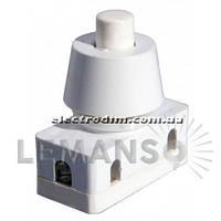Кнопка Lemanso LSW10 белая для лампы / PBS-18