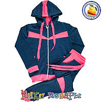 Турецкий спортивный костюм для девочек Размеры: 134-140-146 см (5495-3)