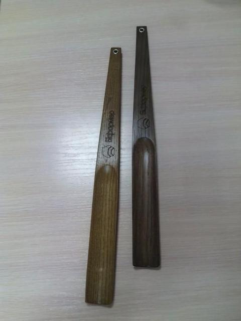 Деревянные лопатки для обуви