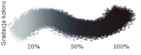 Краситель пищевой гелевый ЧЕРНЫЙ уголь (Польша) 10гр
