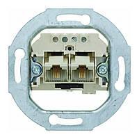 Розетка UAE 2х8 (4) полюсная с подключением резисторов категория 3 Berker (4592)